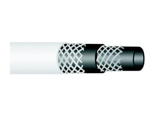 White Hotwash Extruded Rubber Hose