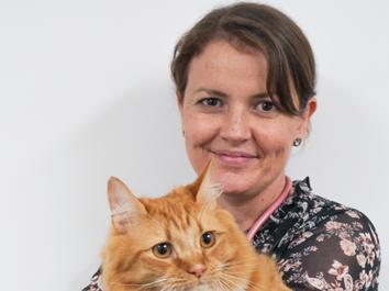 Kristy Stone, Feline Medicine Intern
