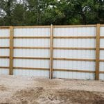 Around the property Odor Fence