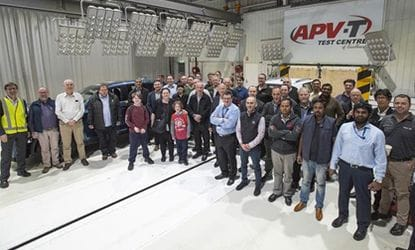 The SAE-A came to APV-T on Thursday evening