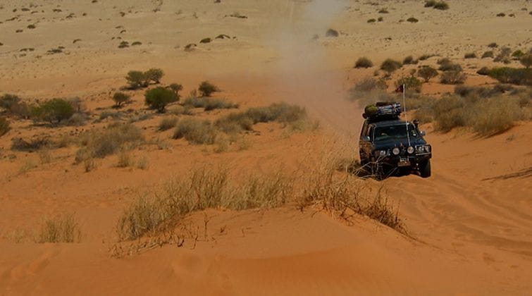 Simpson Desert Guided 4WD Tour