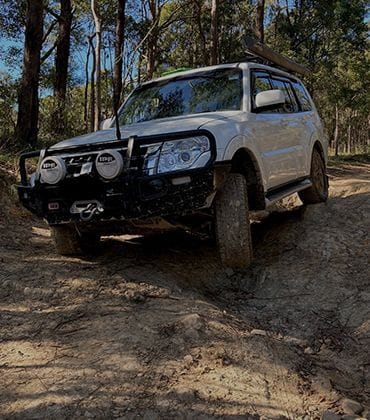 Thunderbolts Trail Guided 4WD Tour