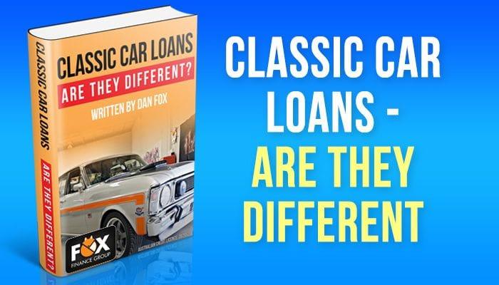 Classic car loans