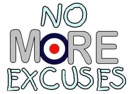 EXCUSES ARE YOU LIVING BELOW THE LINE?