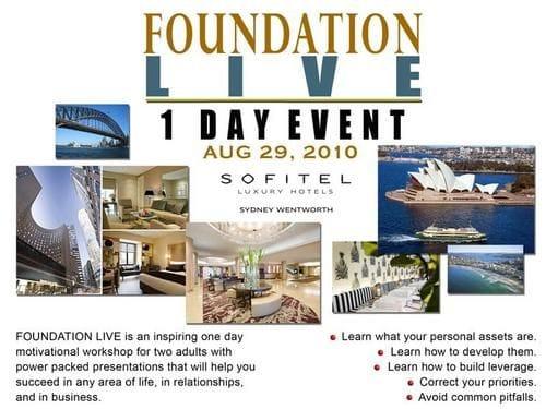 1 Day Personal Development Event, Sydney