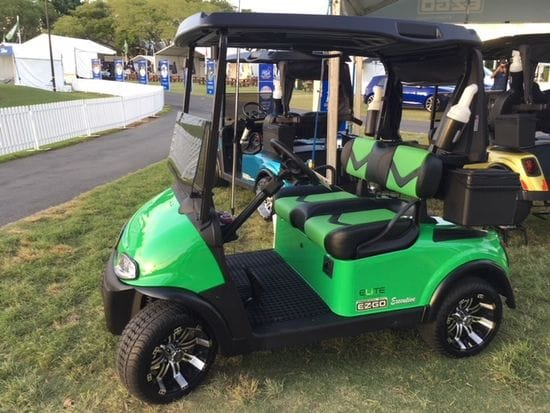 Augusta Golf Cars at the Royal Pines PGA Event