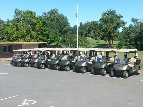 Murwillumbah Golf Club take delivery of their new Fleet