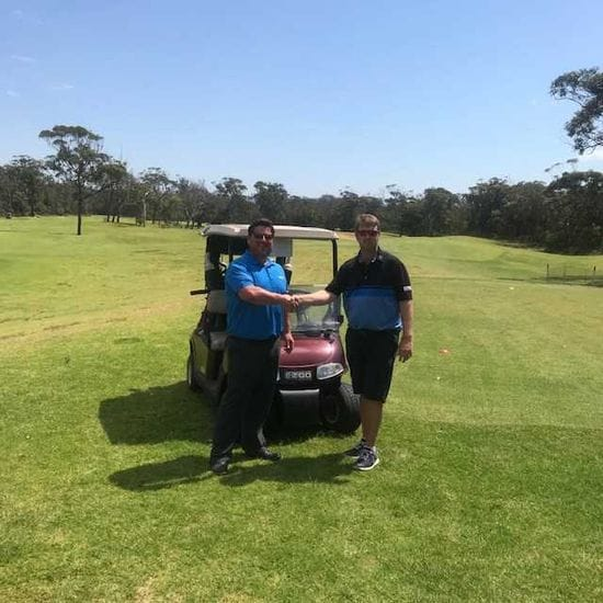 Shoalhaven Heads Golf Clubs fresh new carts