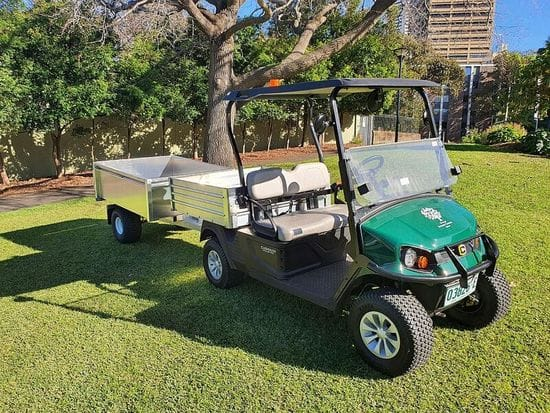 Royal Botanic Gardens take delivery of their new Hauler Pro's
