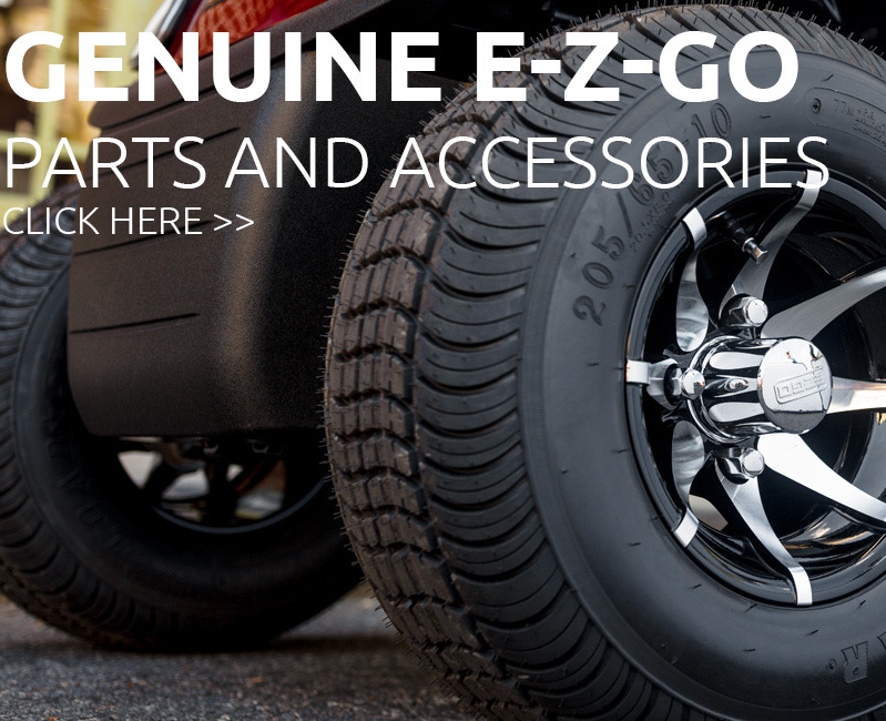 golf vehicle enhanced with genuine parts and accessories