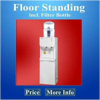 Floor Standing Water Cooler with Filter Bottle