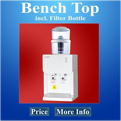 Benchtop Water Cooler with Filter Bottle