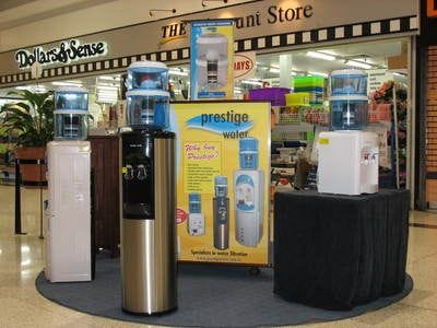 Water Dispensers display in Brisbane