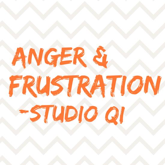 Stress: anger & frustration