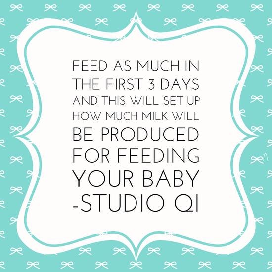 An interesting breast feeding tip!