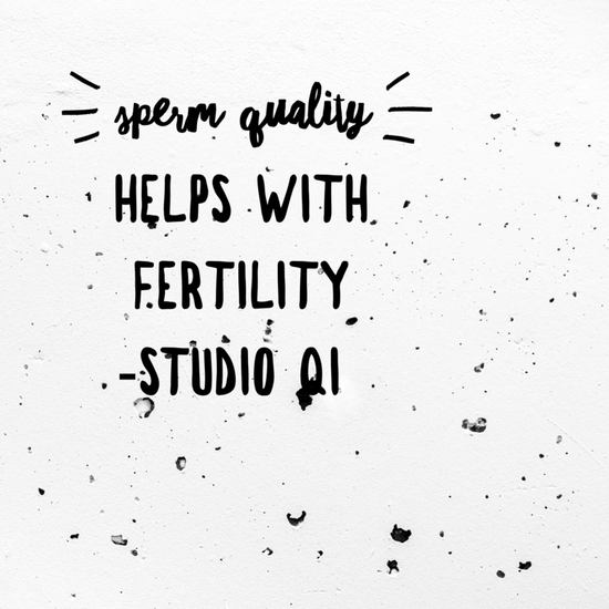 Sperm quality matters for fertility