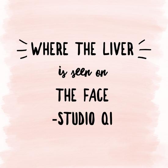 Facial Diagnosis for the Liver