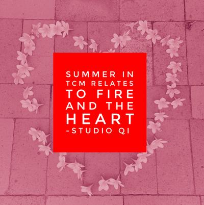 Summer = Heart energy in TCM