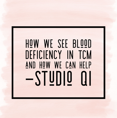 Signs of having Blood Deficiency in TCM