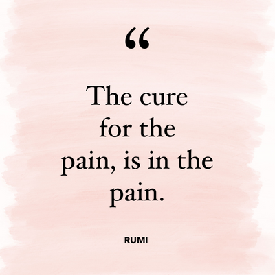 The cure for pain