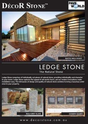 Ledge Stone Brochure