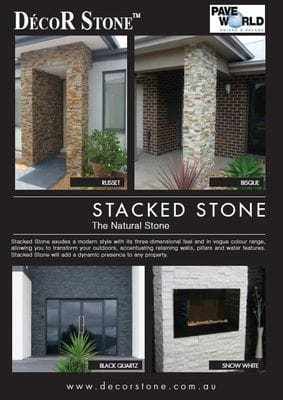 Stacked Stone Brochure