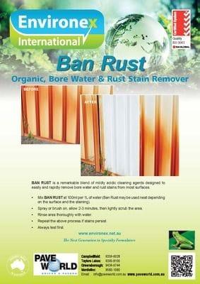 Environex Ban Rust Brochure