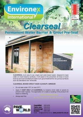 Environex Clearseal brochure