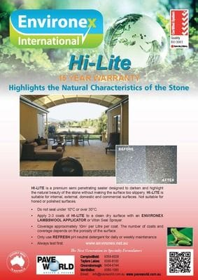 Environex Hi-Lite Brochure