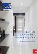 Hebel Low Rise Multi-Residential Intertenancy Walls Brochure | Pave World Melbourne