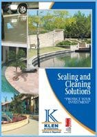 Sealer and cleaning solutions pamphlet
