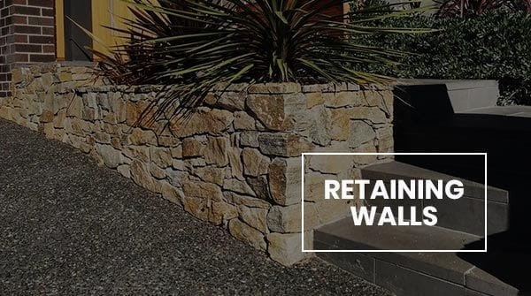 Retaining walls in Melbourne | Landscaping products and solutions