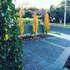 Granite driveway