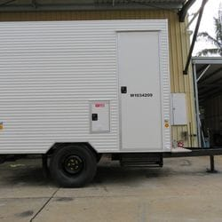 Traymark Industrial Caravans