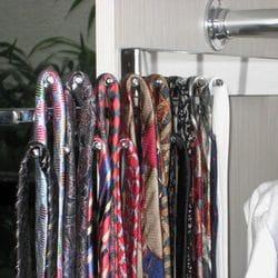 slide out tie rack