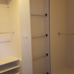 Pull out scarf cabinet (open)