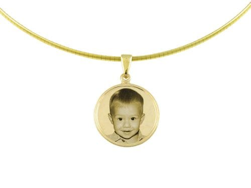 Related Image Classic Round Small Pendant