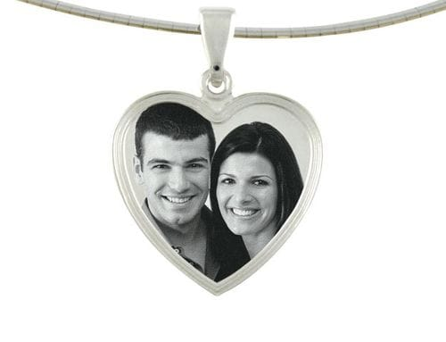 Related Image Classic Heart Small Pendant