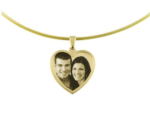 Related Image Classic Heart Large Pendant