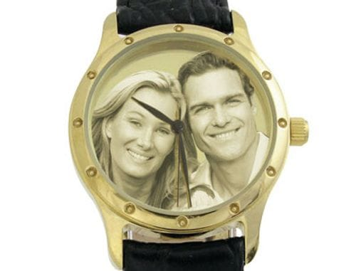 Main Image Image Watch Gold Plated Leather Gents or Ladies