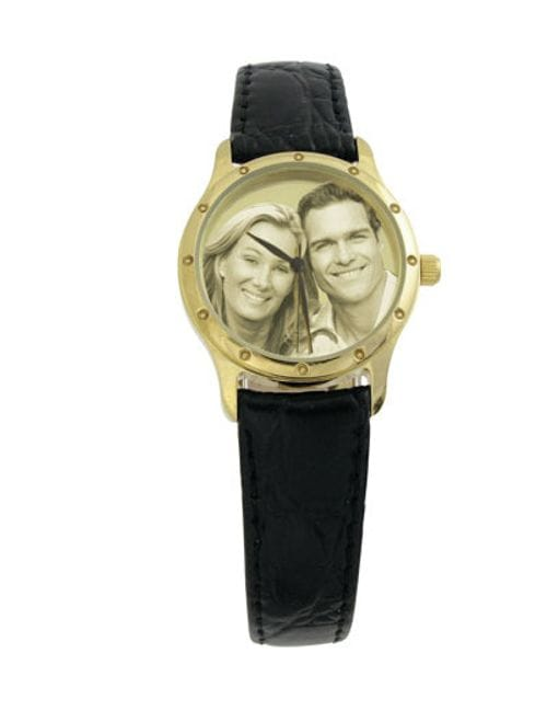Related Image Image Watch Gold Plated Leather Gents or Ladies