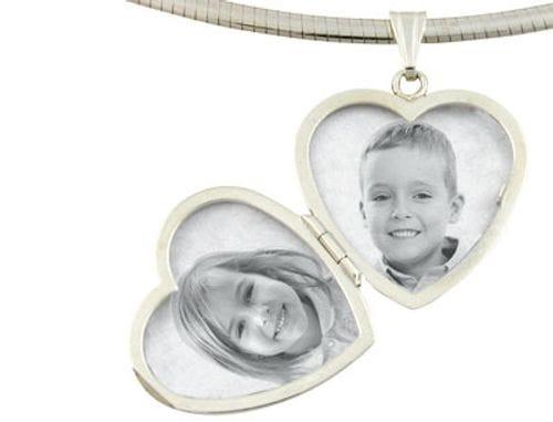 Main Image Locket Heart Sterling Silver