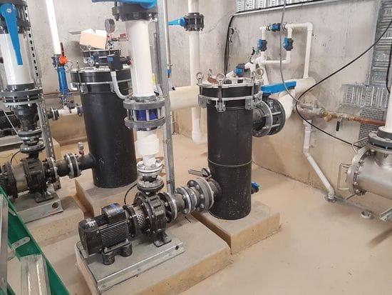 Fountain Pump installation