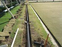 Commercial irrigation system in Brisbane