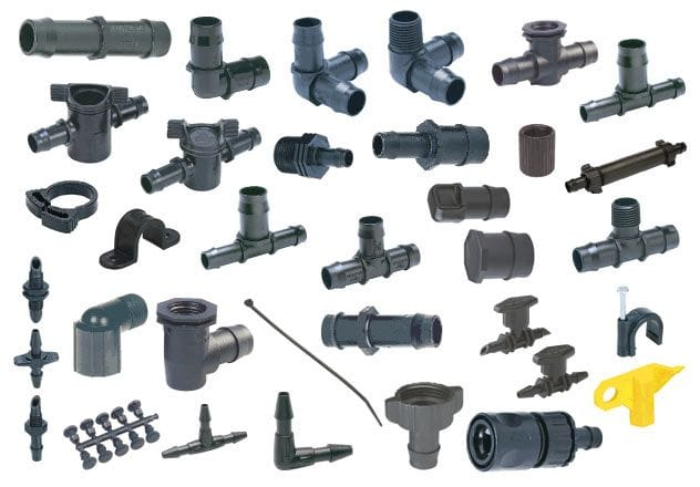Micro-irrigation system fittings