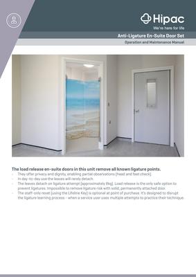 En-Suite Door Operation and Maintenance Manual