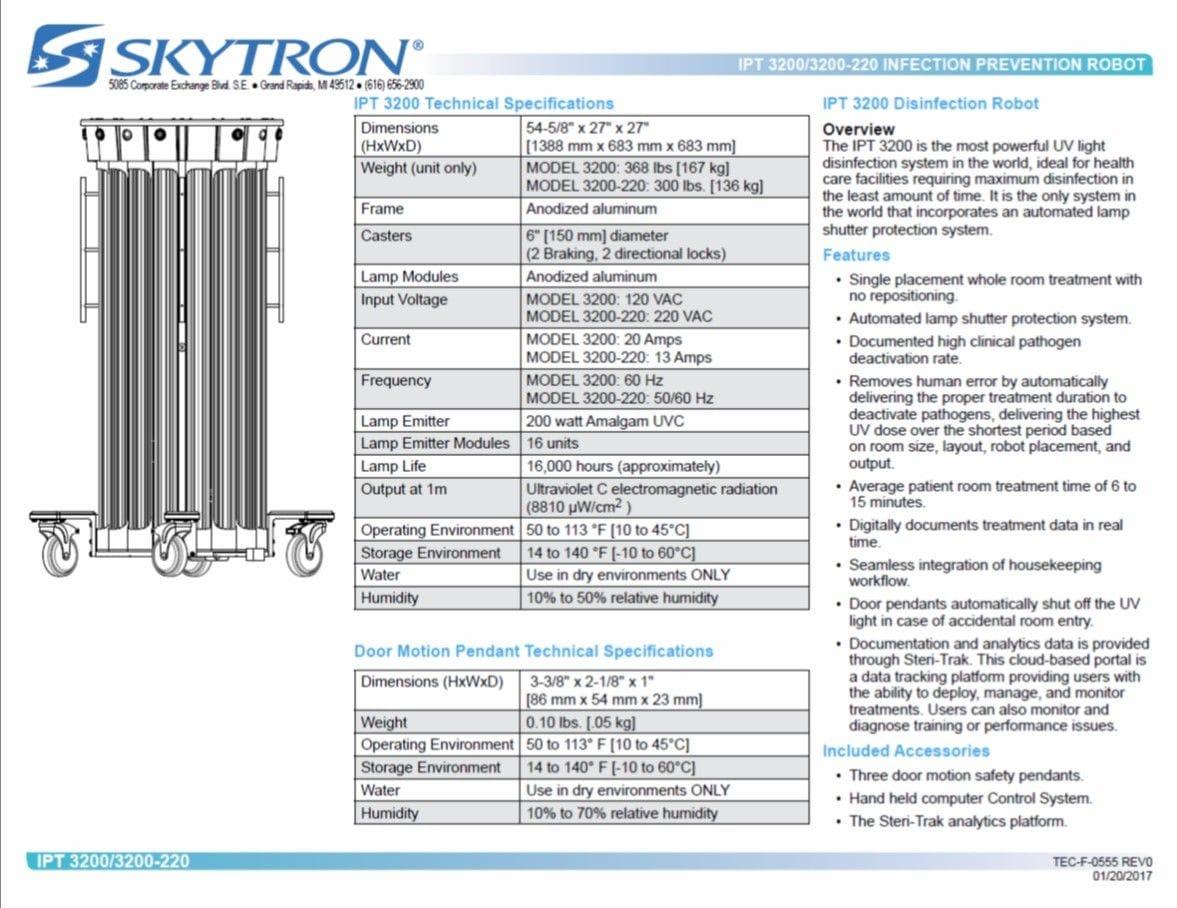 IPT-3200 Datasheet