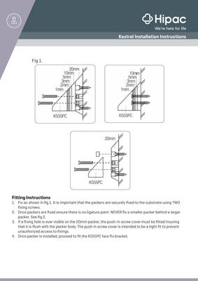 Kestrel Installation Instructions