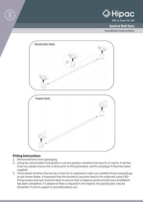 Kestrel Rails Installation Instructions