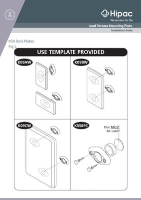 Kestrel Load Release Installation Guide